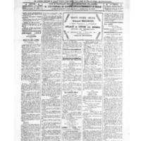 Le Journal de l'arrondissement de Valognes, numéro du 23 juillet 1921