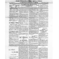 Le Journal de l'arrondissement de Valognes, numéro du 11 février 1928