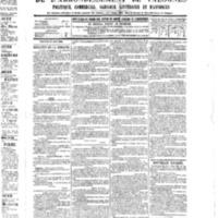 Le Journal de l'arrondissement de Valognes, numéro du 27 août 1886