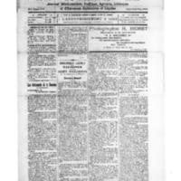 Le Journal de l'arrondissement de Valognes, numéro du 27 septembre 1924