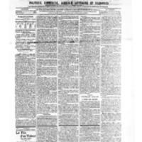 Le Journal de l'arrondissement de Valognes, numéro du 31 août 1906