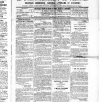 Le Journal de l'arrondissement de Valognes, numéro du 23 juillet 1886
