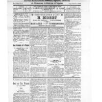 Le Journal de l'arrondissement de Valognes, numéro du 08 mai 1926