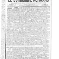 Le Bonhomme normand, numéro du 08 mai 1914