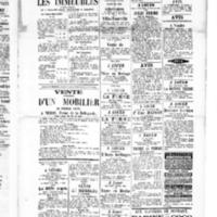 Le Journal de l'arrondissement de Valognes, supplément au numéro du 30 avril 1886