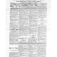 Le Journal de l'arrondissement de Valognes, numéro du 24 octobre 1931
