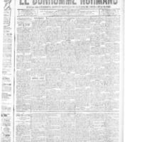 Le Bonhomme normand, numéro du 13 mars 1914