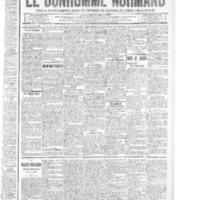 Le Bonhomme normand, numéro du 14 août 1914