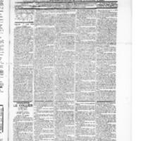 Le Journal de l'arrondissement de Valognes, numéro du 07 août 1896