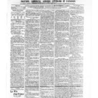 Le Journal de l'arrondissement de Valognes, numéro du 21 septembre 1906