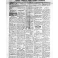 Le Journal de l'arrondissement de Valognes, numéro du 19 mars 1921