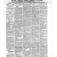 Le Journal de l'arrondissement de Valognes, numéro du 27 juillet 1906