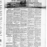 Le Journal de l'arrondissement de Valognes, numéro du 23 mai 1890