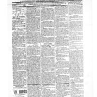 Le Journal de l'arrondissement de Valognes, numéro du 04 décembre 1903