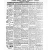 Le Journal de l'arrondissement de Valognes, numéro du 09 octobre 1903