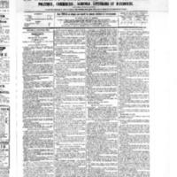 Le Journal de l'arrondissement de Valognes, numéro du 24 septembre 1875