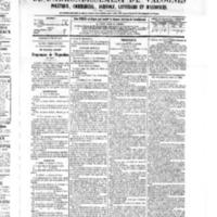 Le Journal de l'arrondissement de Valognes, numéro du 02 juillet 1875