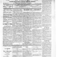Le Journal de l'arrondissement de Valognes, numéro du 04 décembre 1926