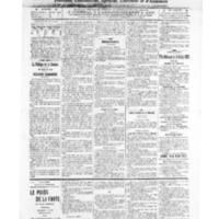 Le Journal de l'arrondissement de Valognes, numéro du 09 juillet 1909