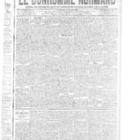 Le Bonhomme normand, numéro du 10 avril 1914