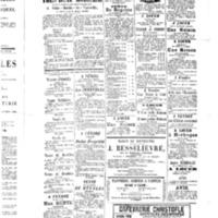 Le Journal de l'arrondissement de Valognes, supplément au numéro du 24 septembre 1886