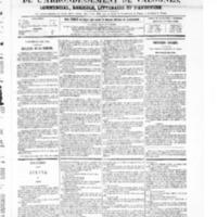 Le Journal de l'arrondissement de Valognes, numéro du 28 août 1868