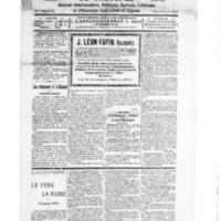 Le Journal de l'arrondissement de Valognes, numéro du 28 janvier 1928