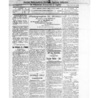 Le Journal de l'arrondissement de Valognes, numéro du 25 octobre 1924