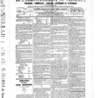 Le Journal de l'arrondissement de Valognes, numéro du 28 janvier 1881