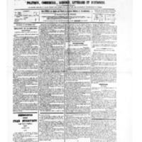 Le Journal de l'arrondissement de Valognes, numéro du 23 septembre 1881