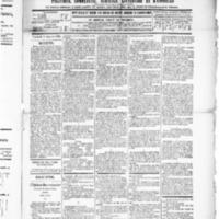 Le Journal de l'arrondissement de Valognes, numéro du 11 janvier 1889