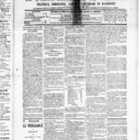 Le Journal de l'arrondissement de Valognes, numéro du 21 novembre 1890