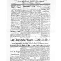 Le Journal de l'arrondissement de Valognes, numéro du 09 avril 1932