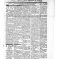Le Journal de l'arrondissement de Valognes, numéro du 03 juillet 1896