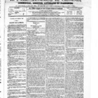 Le Journal de l'arrondissement de Valognes, numéro du 25 septembre 1868