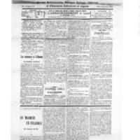 Le Journal de l'arrondissement de Valognes, numéro du 08 décembre 1928