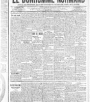 Le Bonhomme normand, numéro du 28 août 1914