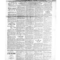 Le Journal de l'arrondissement de Valognes, numéro du 08 mars 1913