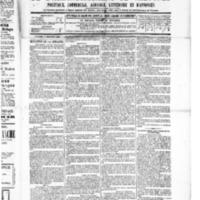Le Journal de l'arrondissement de Valognes, numéro du 03 décembre 1886