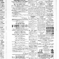 Le Journal de l'arrondissement de Valognes, supplément au numéro du 10 avril 1885