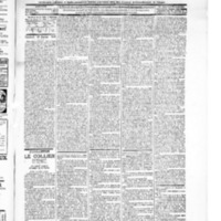 Le Journal de l'arrondissement de Valognes, numéro du 10 janvier 1896