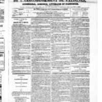 Le Journal de l'arrondissement de Valognes, numéro du 15 février 1867