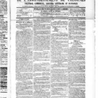 Le Journal de l'arrondissement de Valognes, numéro du 21 mai 1886