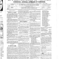 Le Journal de l'arrondissement de Valognes, numéro du 03 mars 1865