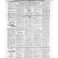 Le Journal de l'arrondissement de Valognes, numéro du 01 février 1913