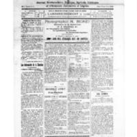 Le Journal de l'arrondissement de Valognes, numéro du 01 novembre 1924