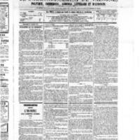 Le Journal de l'arrondissement de Valognes, numéro du 23 juillet 1875