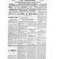 Le Journal de l'arrondissement de Valognes, numéro du 29 octobre 1932