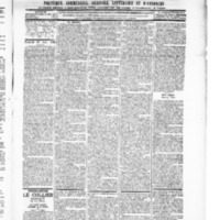 Le Journal de l'arrondissement de Valognes, numéro du 19 juin 1896