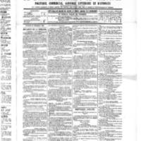 Le Journal de l'arrondissement de Valognes, numéro du 10 septembre 1886